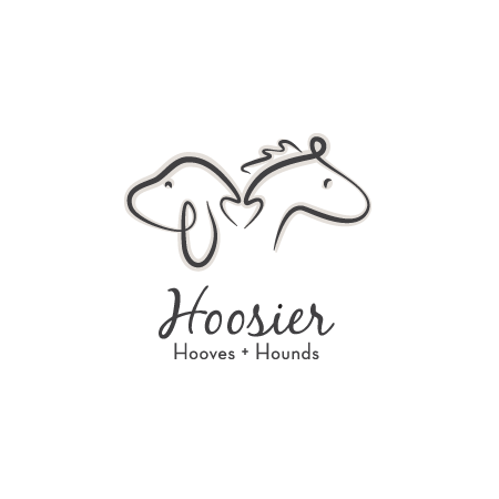 Hoosier Hooves and Hounds logo