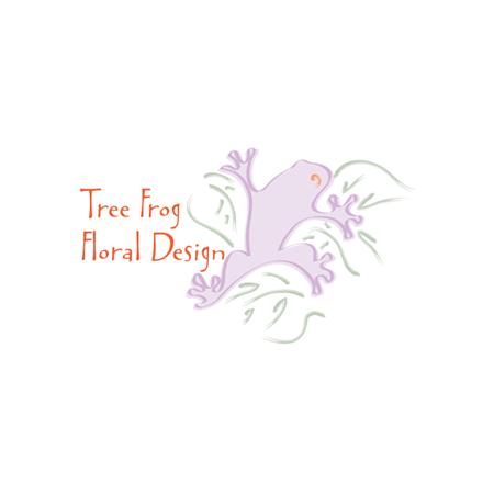 Tree Frog Floral logo