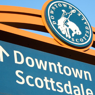 Downtown Scottsdale Wayfinding